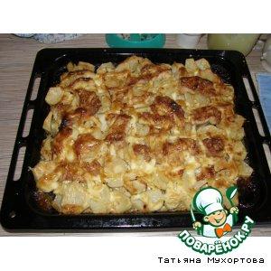 Рецепт: Морской язык с картофелем