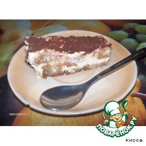 Рецепт: Шоколадный бисквит