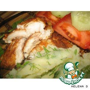 Рецепт: Жареная рыба в кляре
