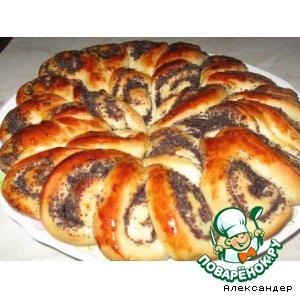 Рецепт: Пирог Бабушкина салфетка