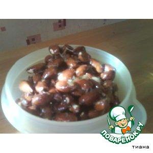 Рецепт: Миндальные орешки в карамели
