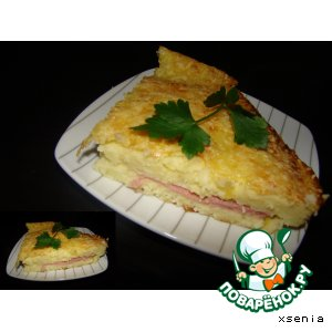 Рецепт: Картофельный пирог Gateau savoyard