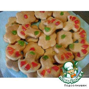 Рецепт: Печенье с рассолом