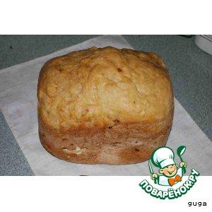Рецепт: Белый хлебушек на ржаной закваске