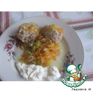 Рецепт: Тефтели Ежики