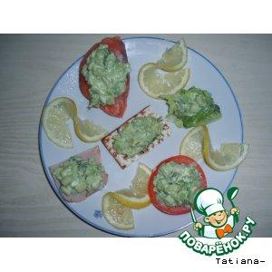 Рецепт: Авокадо-салат