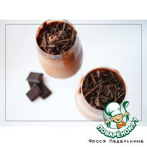 Рецепт: Шоколадный мусс с коньяком