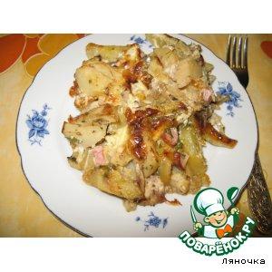 Рецепт: Картофельная запеканка Ароматная