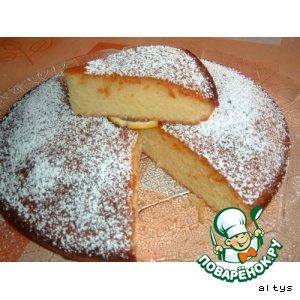 Рецепт: Лимонный пирожок