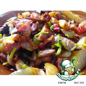 Рецепт: Картофель по-крестьянски