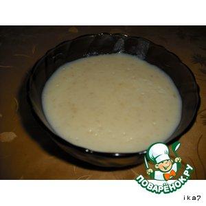 Рецепт Молочно-банановый десерт