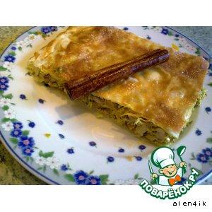 Рецепт: Марокканский пирог «Бастила»