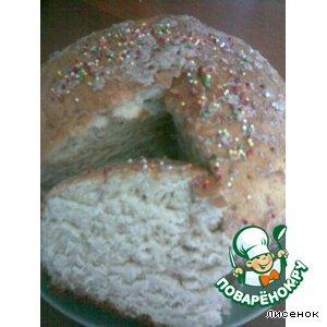 Рецепт: Пасхальная баба Польская