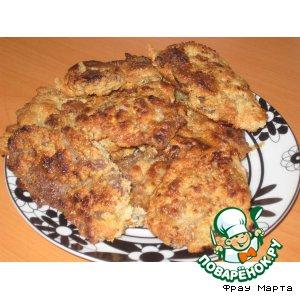 Рецепт: Отбивные в ореховой корочке