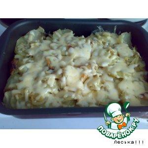 Рецепт: Нежное мяско с картошечкой