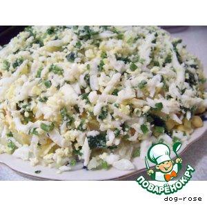 Рецепт: Салат «Лососевый»