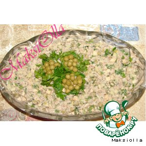 Рецепт: Шпротный салат №1