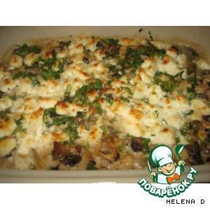 Рецепт: Жюльен из курицы и грибов