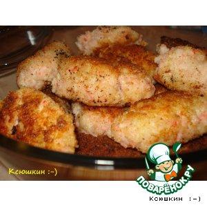 Рецепт: Рыбные котлетки Морские