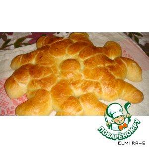 Рецепт: Хлеб Солнышко