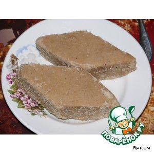 рецепт армянской домашней халвы
