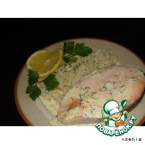 Рецепт: Рыба, приготовленная в микроволновой печи