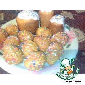 Рецепт: Печенье Цыплята к Пасхе