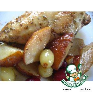 Рецепт: Куриные   грудки   в   кленовом   сиропе