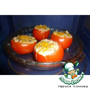 Рецепт: Фаршированные помидоры Коктейль
