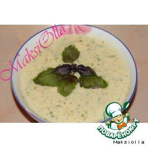 Рецепт: Суп-пюре картофельный с чесноком