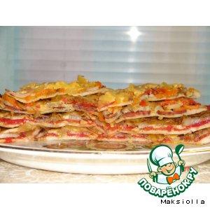 Рецепт: Пицца по-неаполитански №2