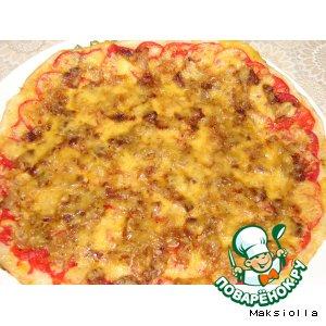 Рецепт: Пицца с сыром №3