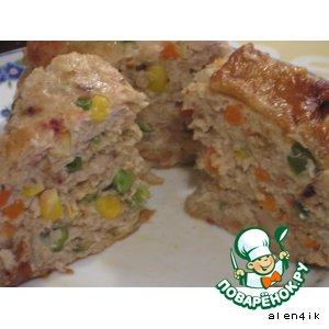 Рецепт: Фаршированная курица «Цыпа»