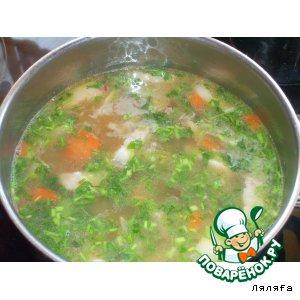 Рецепт: Гороховый суп с салом
