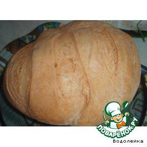 Рецепт: Батон пшеничный