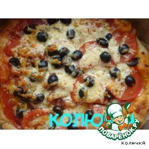 "Рецепт: Пицца ""Италия"""