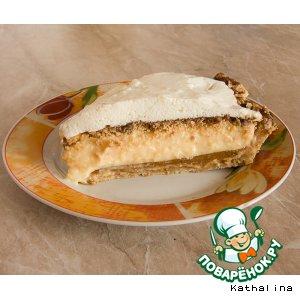 Рецепт: Торт Молочный Абрикос