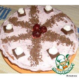 Рецепт: Торт Ягодка