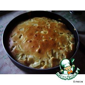 """Рецепт: Пирог """"Мясо и картофель"""""""
