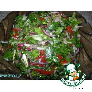 Рецепт: Салат из одуванчиков