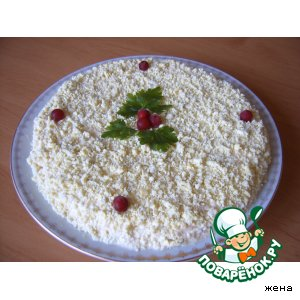 "Салат ""Солнечный денeк"" – кулинарный рецепт"