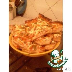 Рецепт: Пицца от Джулии