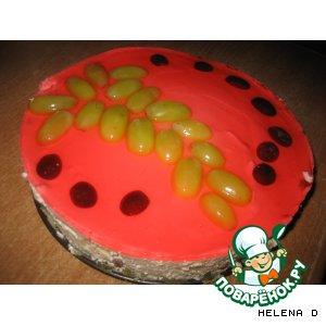 Рецепт Виноградный торт без выпечки