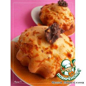 Рецепт: Апельсиновые кексы 16 копеек