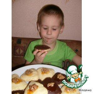 Рецепт: Печенье Уголки