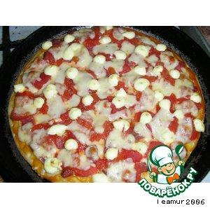 Рецепт: Вариант начинки пиццы