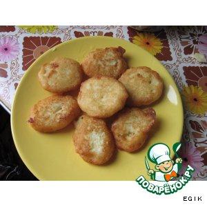 Рецепт: Картофельные оладьи Маленькая хитрость