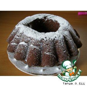 Рецепт: Шоколадный кекс
