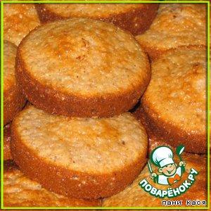 Рецепт: Ореховые кексы