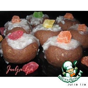 Шоколадно-кокосовое печенье ШокКко